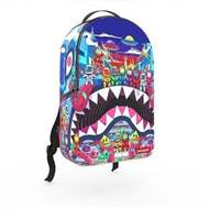 תיק SPRAYGROUND ספרייגראונד 2019 LAND OF ASTRO SHARKS BACKPACK